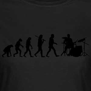 evolution of drums T-Shirts - Frauen T-Shirt