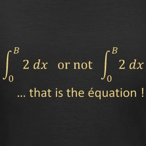 to_be_or_not_to_be_humour_maths Tee shirts - T-shirt Femme