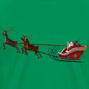 Santa Claus is coming - Männer Premium T-Shirt