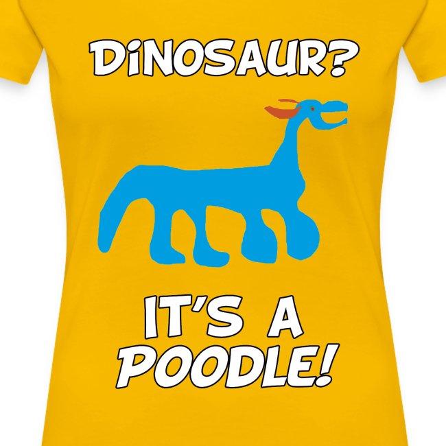 POODLE T-shirt! (Women's)