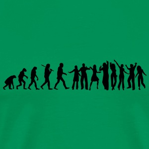 evolution of party T-Shirts - Männer Premium T-Shirt