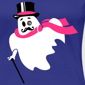 Moustache Gespenst - Geist - Ghost - 3C T-Shirts - Frauen Premium T-Shirt