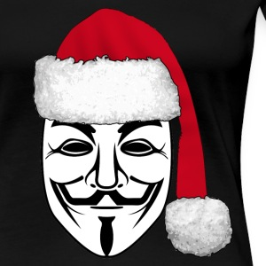 anonymous christmas 1 T-Shirts - Women's Premium T-Shirt