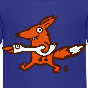fox and goose T-Shirts - Kinder Premium T-Shirt