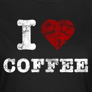 i love coffee vintage hell T-Shirts - Women's T-Shirt
