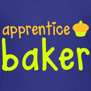 apprentice baker with a really cute little cupcake Shirts - Kids' Premium T-Shirt