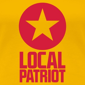 Local Patriot Star T-Shirts - Frauen Premium T-Shirt