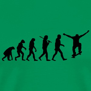 Evolution of Skateboarding T-Shirts - Männer Premium T-Shirt