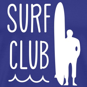 surfing surf club T-Shirts - Men's Premium T-Shirt
