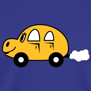 cute_car T-shirts - Herre premium T-shirt