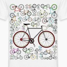 Love Fixie Road Bike T-Shirts