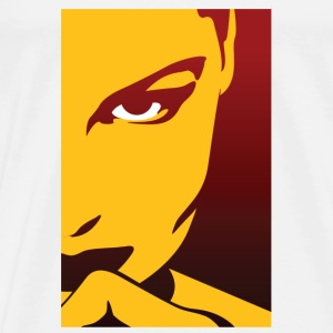 Woman Mysterious Face (dd)++2012 T-Shirts - Men's Premium T-Shirt