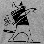 "Motiv ~ ""Katze against"" Men"