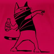 """Motiv ~ """"Katze against"""" Girlie"""