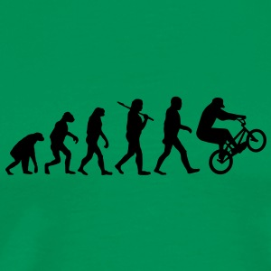 evolution of bmx Tee shirts - T-shirt Premium Homme