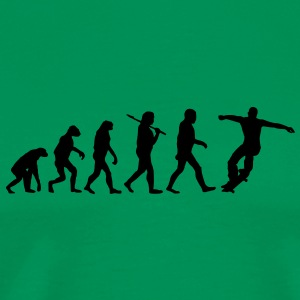evolution of skateboarding Tee shirts - T-shirt Premium Homme
