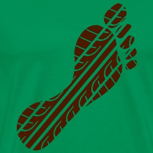 Footprint tread  T-Shirts - Men's Premium T-Shirt
