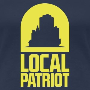 Local Patriot City T-Shirts - Frauen Premium T-Shirt