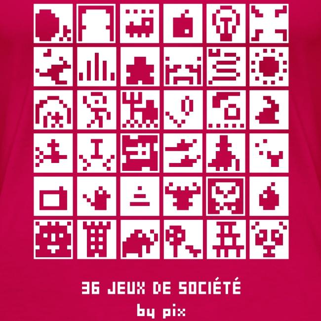 T-shirt-jeu 36·jeux·de·société