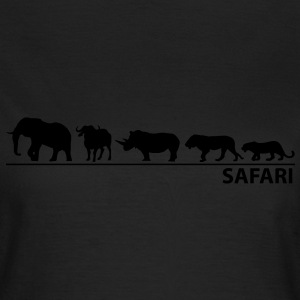 Afrika - The big five - Frauen T-Shirt