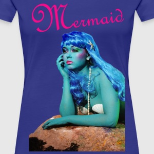 MERMAID T-SHIRT FROM THE COLOURFUL PEOPLE SERIES - Women's Premium T-Shirt