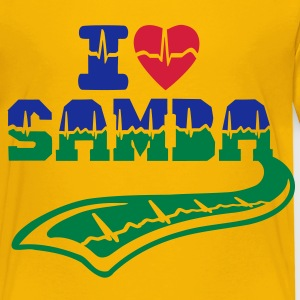 i love samba pulse tattoo Shirts - Kids' Premium T-Shirt