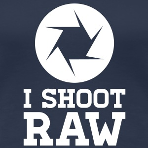 I Shoot RAW - Photography Tee shirts - T-shirt Premium Femme