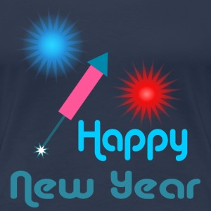 Happy New Year T-skjorter - Premium T-skjorte for kvinner