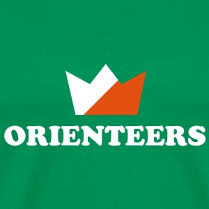 Orienteers crown T-Shirts - Men's Premium T-Shirt