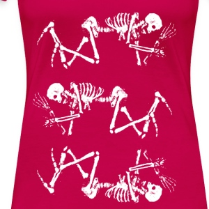 3 Skeletons - Frauen Premium T-Shirt