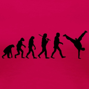 evolution of breakdance Camisetas - Camiseta premium mujer