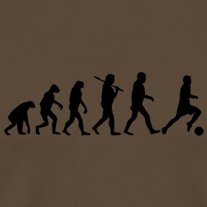 evolution of football Tee shirts - T-shirt Premium Homme
