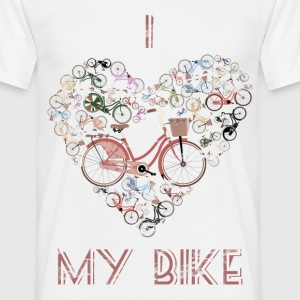 I Love My Bike T-Shirts - Men's T-Shirt