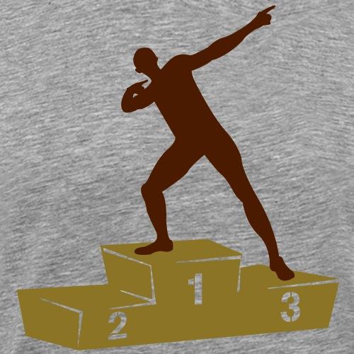 Usain Bolt podium