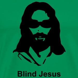 blind Jesus - Men's Premium T-Shirt