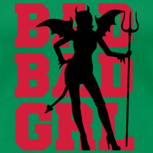 Bad Bad Girl T-Shirts - Frauen Premium T-Shirt