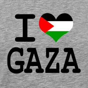 i love Gaza T-Shirts - Men's Premium T-Shirt