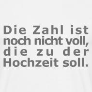 Motiv ~ Zahl-nicht-voll-Shirt
