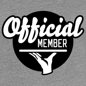 Official Member | Mitglied T-Shirts - Frauen Premium T-Shirt