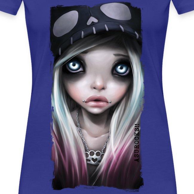 RHONA classic girl shirt teal