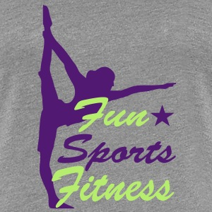 fitness - Frauen Premium T-Shirt