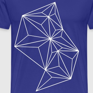 Triangle love - Männer Premium T-Shirt