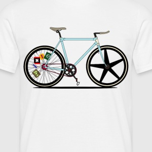 Fixie Bike T-Shirts - Men's T-Shirt