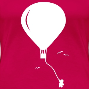 hot-air balloon guy  guy de ballon à air chaud  Tee shirts - T-shirt Premium Femme