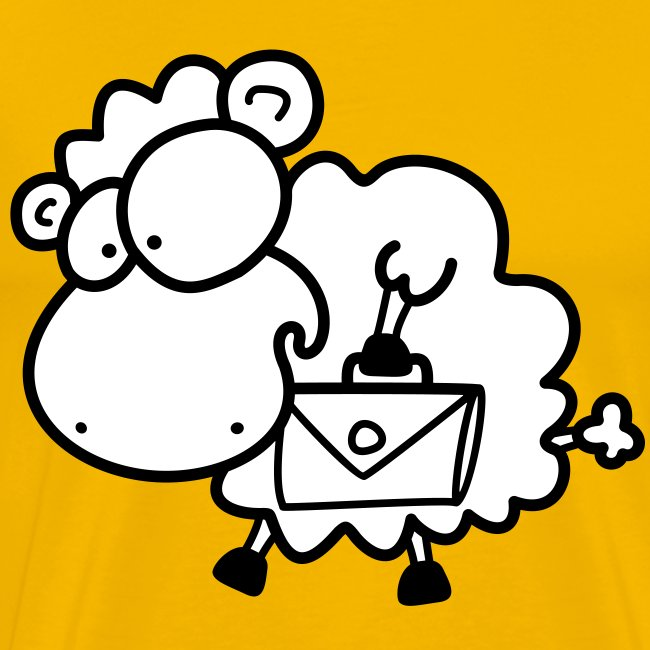 Koffer Packen Schaf