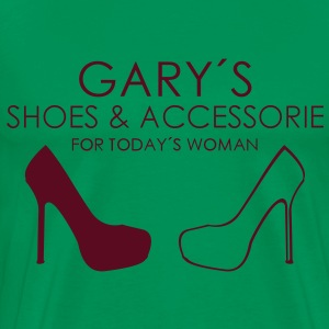 Gary´s Shoes and Accessoire T-shirts - Premium-T-shirt herr
