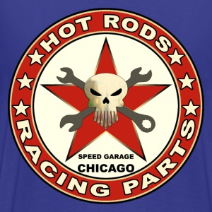 hot rods racing parts Tee shirts - T-shirt Premium Homme