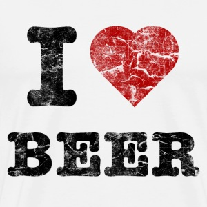 i_love_beer_vintage_dark T-Shirts - Men's Premium T-Shirt