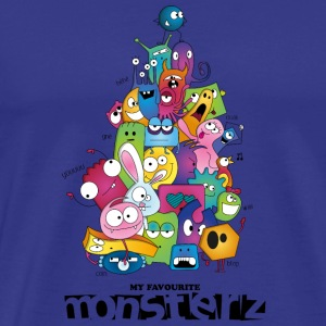 My favourite monsterz - T-shirt Premium Homme