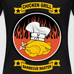 Barbecue chicken T-Shirts - Women's Premium T-Shirt